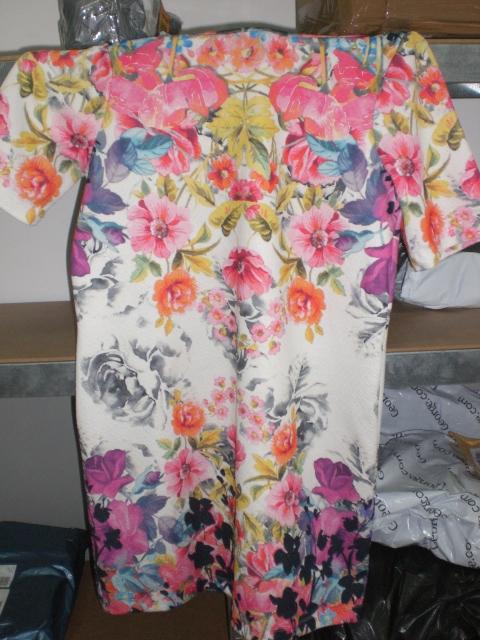 Шарена лятна рокля
